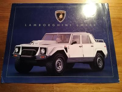 LAMBORGHINI LM002 1985 - prospekt 2 strany