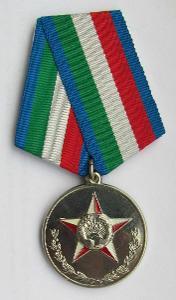 Tádžikistán Medaile za 15 let služby