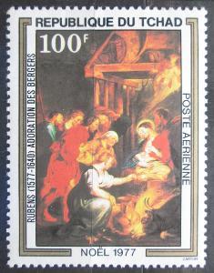 Čad 1977 Vánoce, umění, Rubens Mi# 819 2322