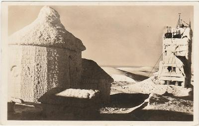 Krkonoše Sněžka meteo kaplička 242