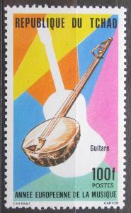 Čad 1985 Kytara Mi# 1090 2326