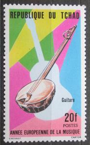 Čad 1985 Kytara Mi# 1084 2326
