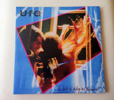 UFO - The Wild, The Willing And The Innocent - 2XLP RED VINYL - 2011