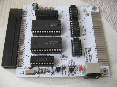 Nový průchozí Interface pro připojení klávesnice PS/2 k ZX Spectrum