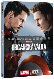 CAPTAIN AMERICA: OBČANSKÁ VÁLKA (DVD) - EDICE MARVEL 10 LET