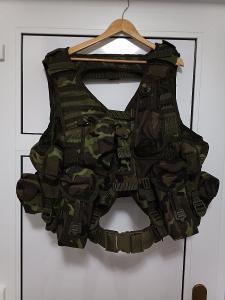 Slaňovací taktická vesta + opasek MNS-2000, VZ.95