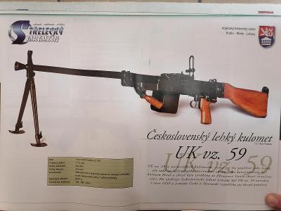 Obrázky zbraní - kulomety
