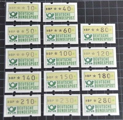 Německo BRD SRN 1981 Známky Mi A1 ** známky z automatu