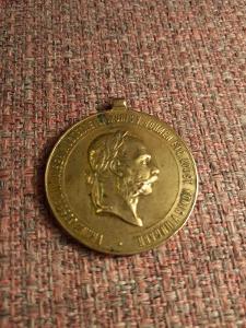 RU Medaile  2  DECEMBER 1873  -  Č (4) !!!