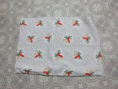 ložní povlečení -polštář  vánoční