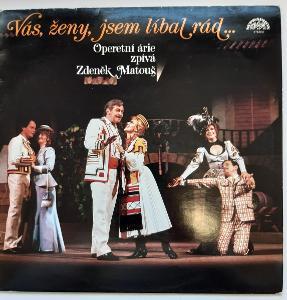 -- LP DESKA - Z.MATOUŠ-VÁS ŽENY JSEM LÍBAL RÁD ... - 1986 --