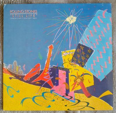 LP ROLLING STONES - STILL LIFE(1982) 1.GER Press GAT. EX++ TOP STAV!
