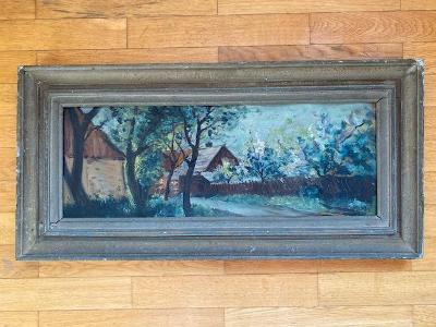 Skvělý expresionistický Alois Kučera - Na kraji vesnice