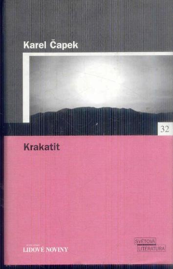 KAREL ČAPEK - KRAKATIT  - Knihy