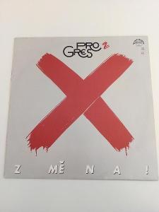 Progres 2 - Změna! -top stav- ČSSR 1988 LP