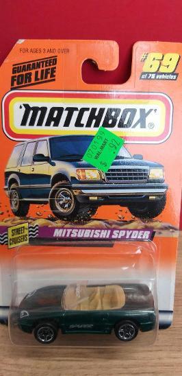 MATCHBOX ´´ MITSUBISHI SPYDER ´´ 1998 #69 - Modelářství