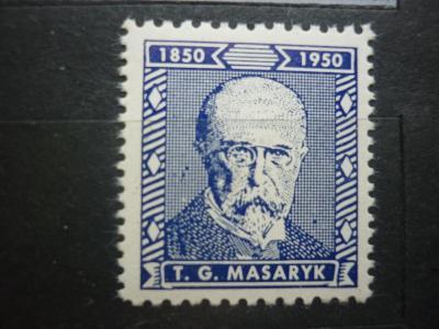 TGM MASARYK 1850 -  1950  - 100 LET OD NAROZENÍ TGM MASARYK BLAU**! RR