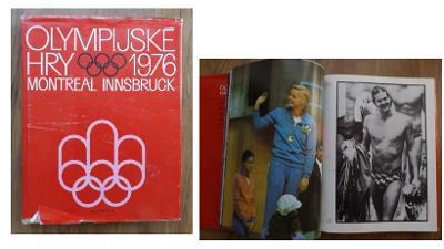 publikace - Olympijské hry OH 1976 Montreal a ZOH Innsbruck