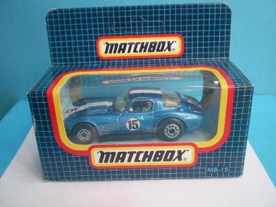 MATCHBOX - 15 CORVETTE GRAND SPORT - MACAU- NEROZBALENÝ