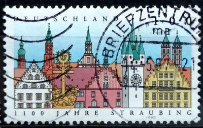 DEUTSCHLAND: MiNr.1910 City of Straubing 100pf 1997