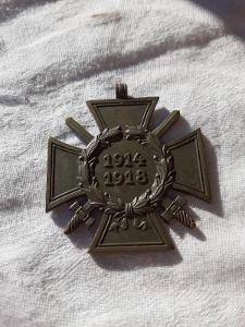 RU - Kříž  - 1914 - 1918 !!!
