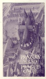 stary pruvodce PRAZSKY HRAD-PRAGUE CASTLE mapa informace Praha