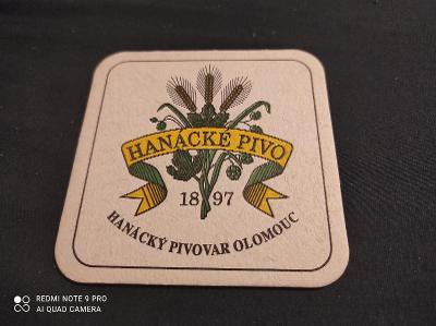 Hanácké pivo Olomouc tácek
