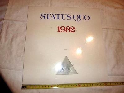 STATUS  QUO  1982  ... LP deska .. vinyl .. pěkný stav 99%