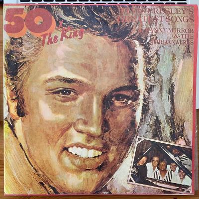 Danny Mirror & The Jordanaires – 50 X The King - Elvis Presley's - LP