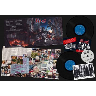 RIOT - Archives Volume 3: 1987-1988 / 2 LP + DVD / LIMITED 400 Ks