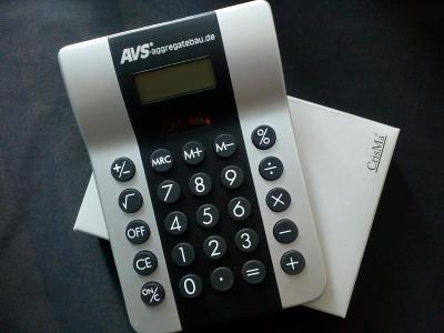 kalkulačka Chris, nepoužitá