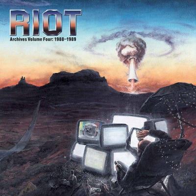 RIOT - Archives Volume 4: 1988-1989 / 2 LP + DVD / LIMITED 300 Ks