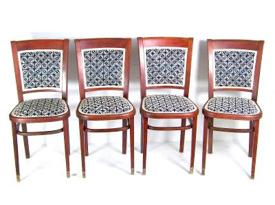 4x židle Thonet, 1920ca