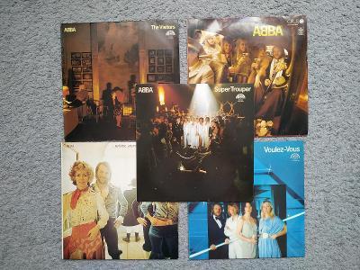 Gramofonová deska Gramofon Sbírka Pop Rok ABBA Švédsko Vinyl  LP