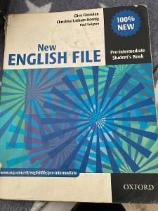 Učebnice new english file modrá