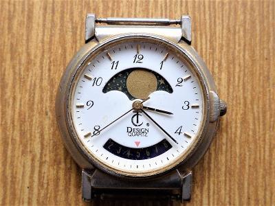 Náramkové hodinky TC quartz #346-M
