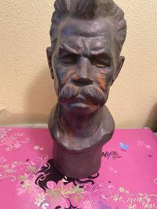 Socha, busta Maxim Gorky Rusko