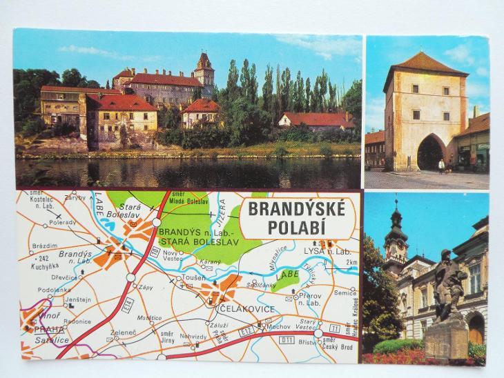 Brandýs nad Labem - Stará Boleslav - Čelakovice - BRANDÝSKÉ POLABÍ - Pohlednice