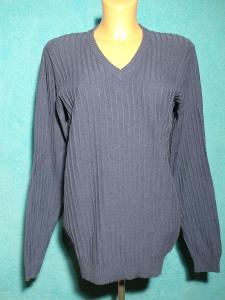 Zánovní pánský nebo dámský šedý svetr S + Dárek