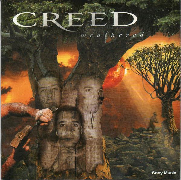 CD - CREED - Weathered - Hudba