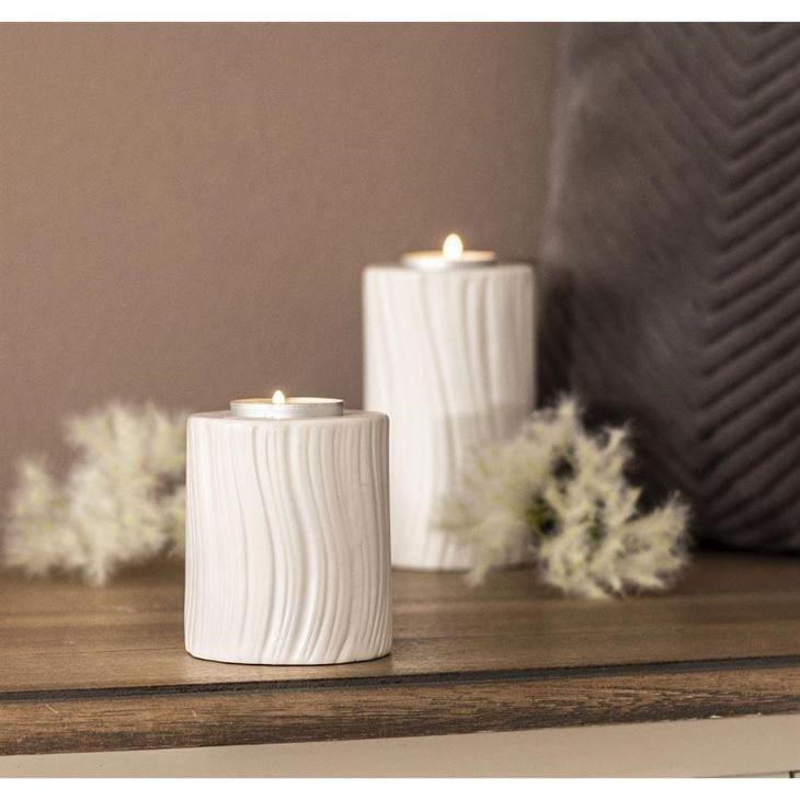 Svícen porcelán malý  - Starožitnosti
