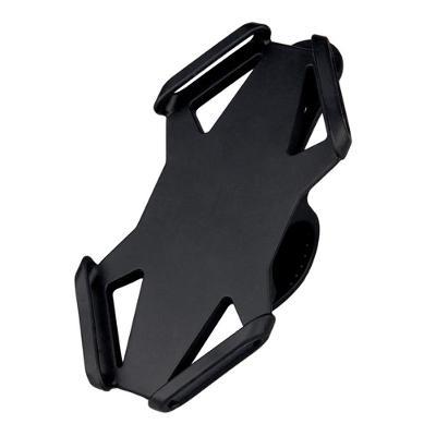 Silikonový držák telefonu na kolo černý 0454