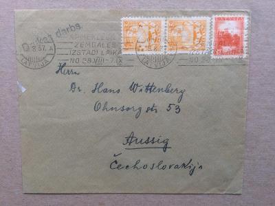 Litva  - ČSR 1937