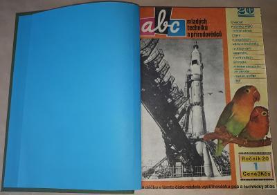 ABC  ročník 20. -  1975/76  svázaný do pevných desek