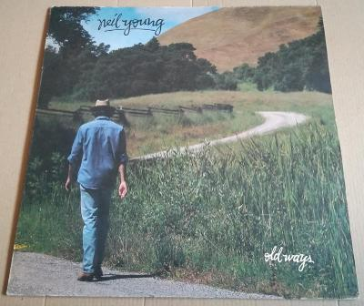 LP NEIL YOUNG-OLD WAYS/EX, 1985