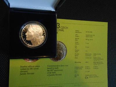 200 Kč, 2007, Jarmila Novotná proof - stav UNC