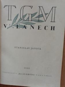 Kniha TGM v Lánech