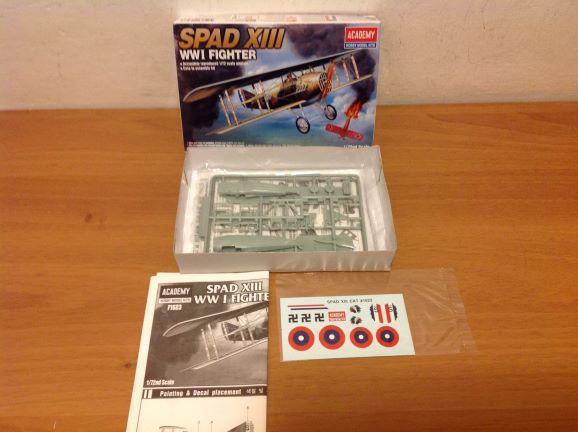 ACADEMY - Spad XIII, Sopwith Camel, 1/72 - Modelářství