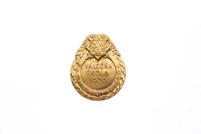Odznak Válečná škola 1930