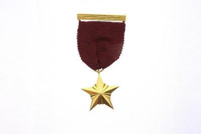 Vyznamenání Hvězda pěticípá kopie pro muzeum